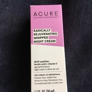 Other - NEW Acure - Rejuvenating Whipped Night Cream